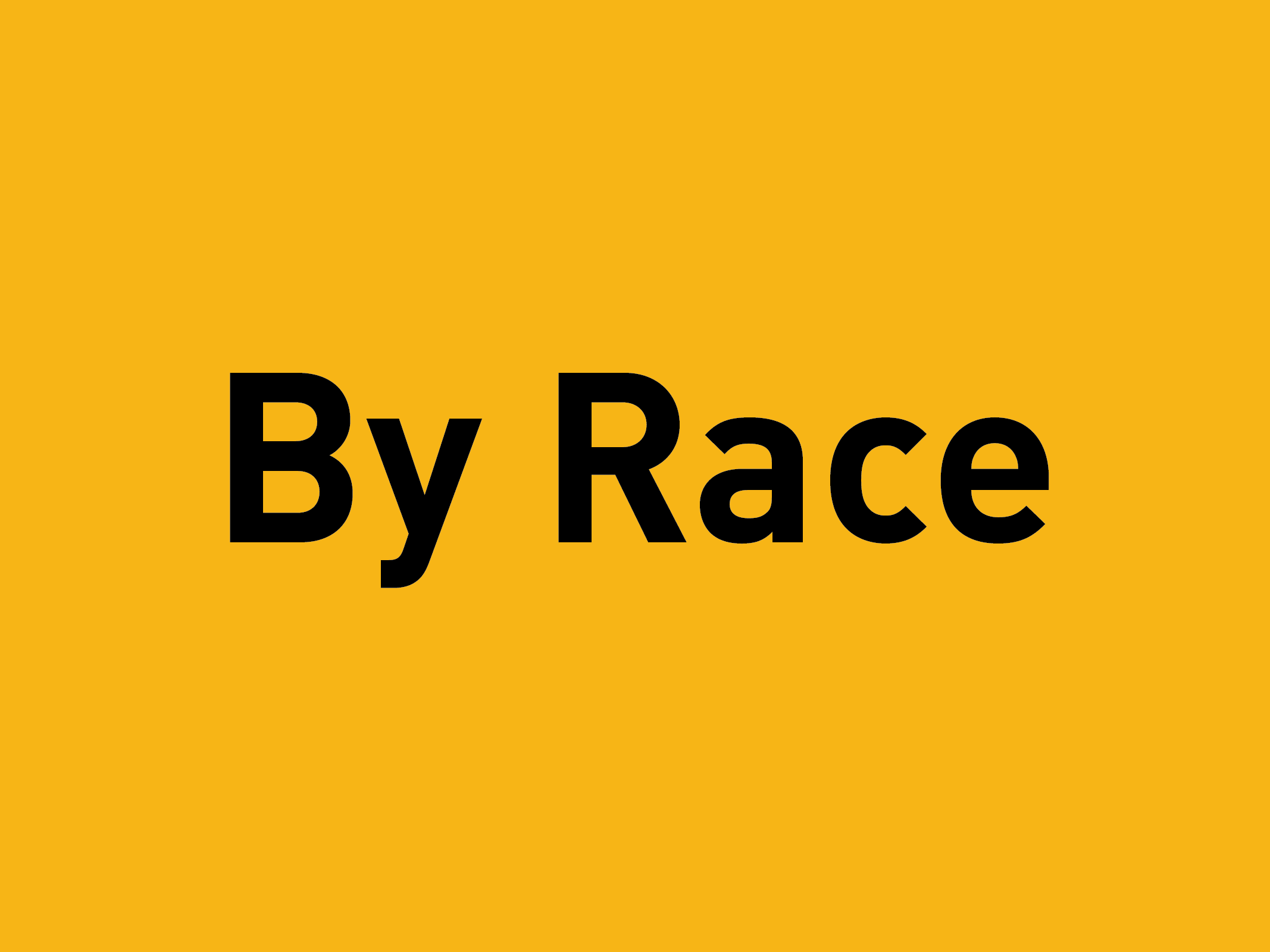 Filter by Race